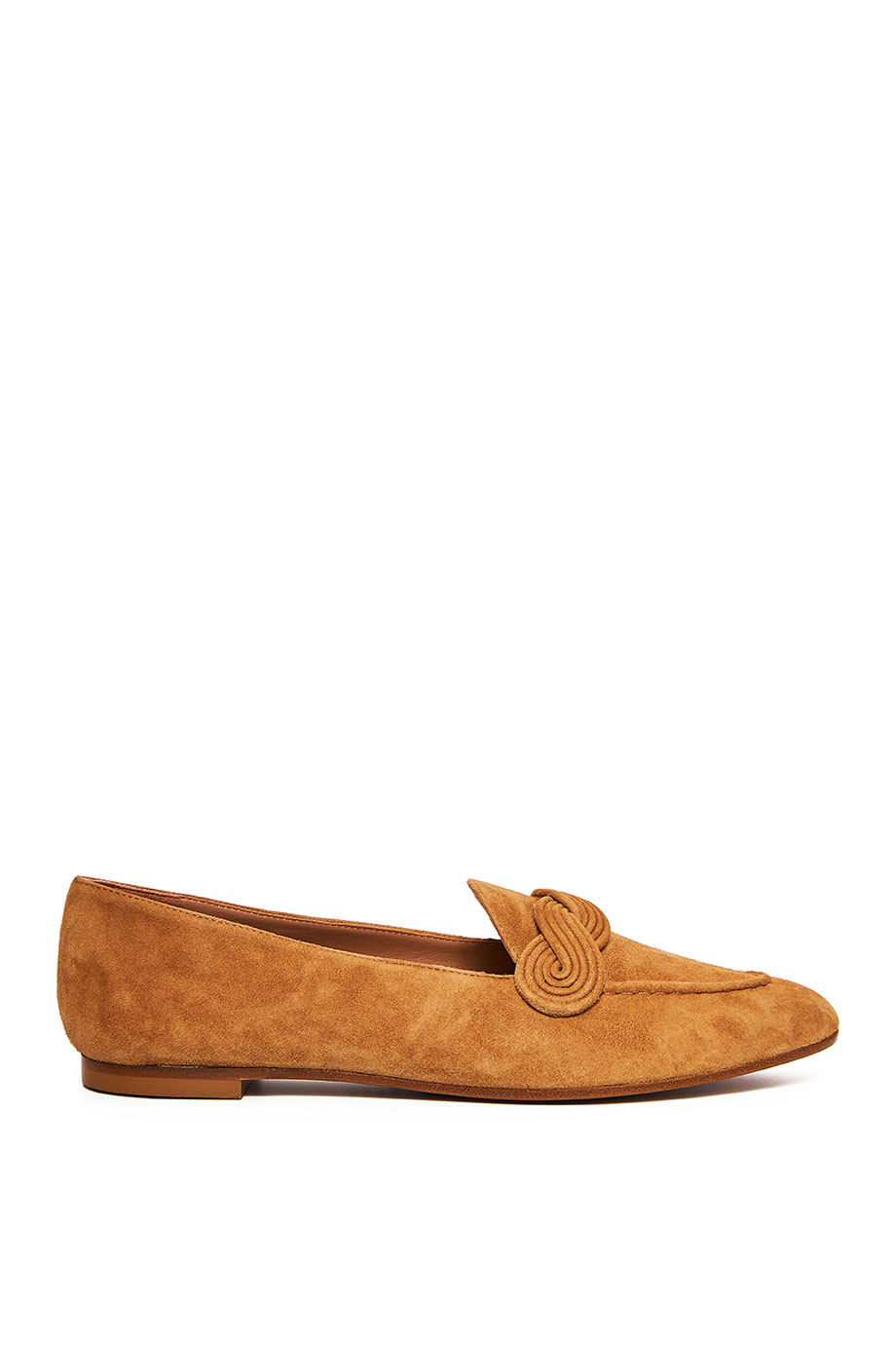 Infinite suede loafers