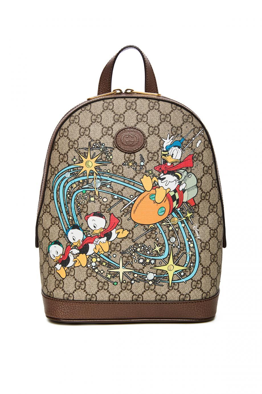 x Disney printed coated-canvas bag