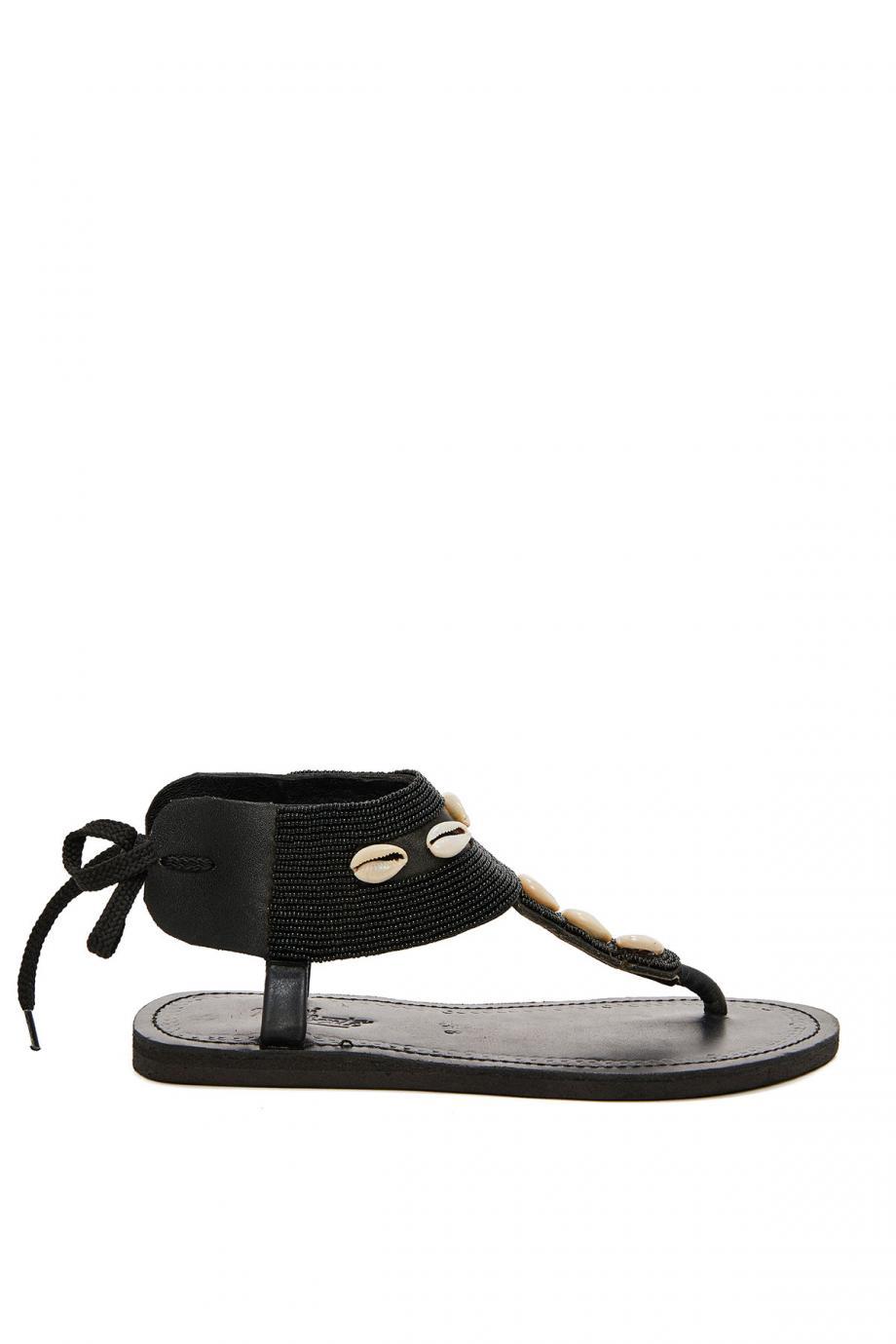 Massai shell sandals