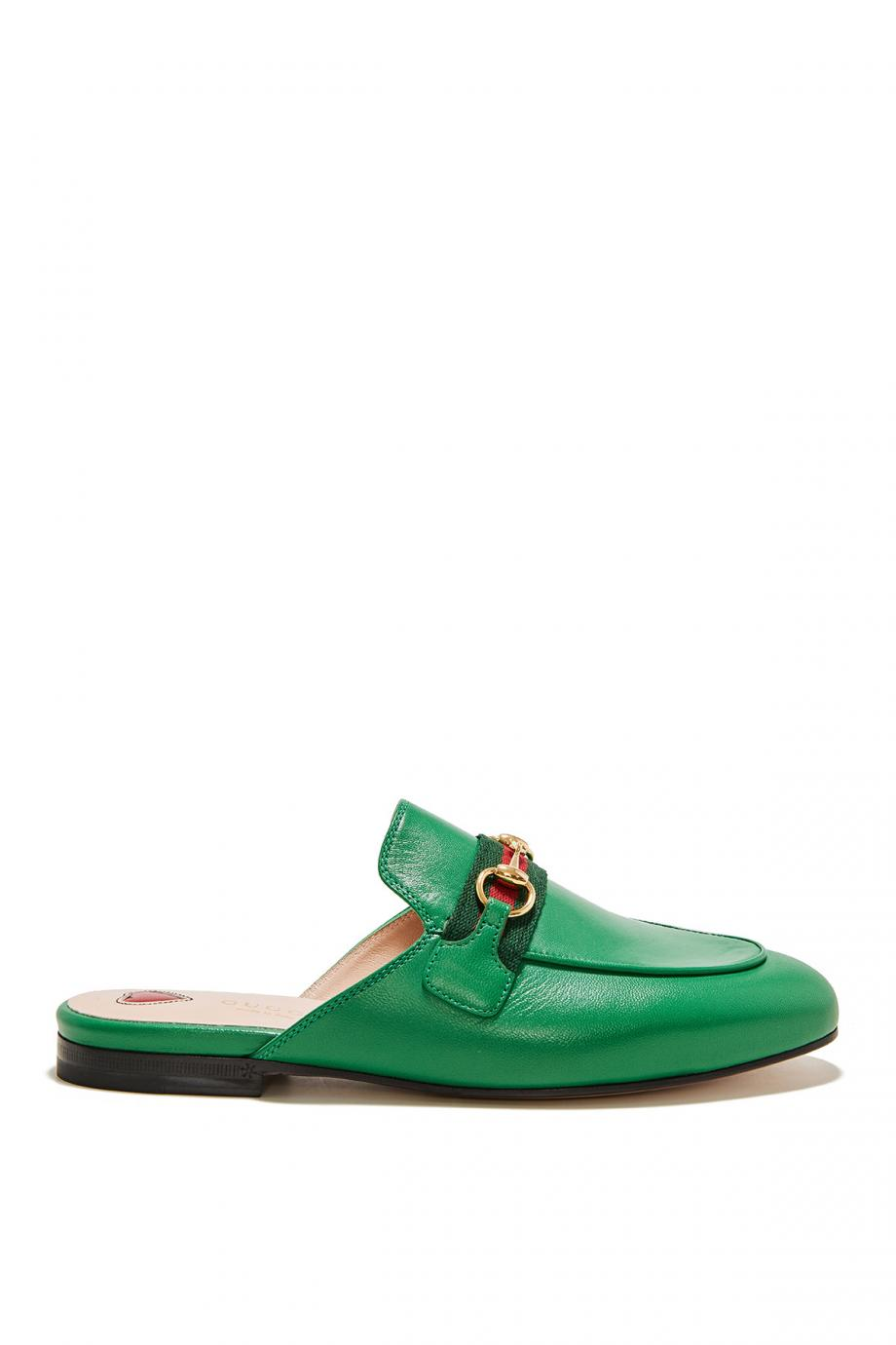 Princetown leather mules