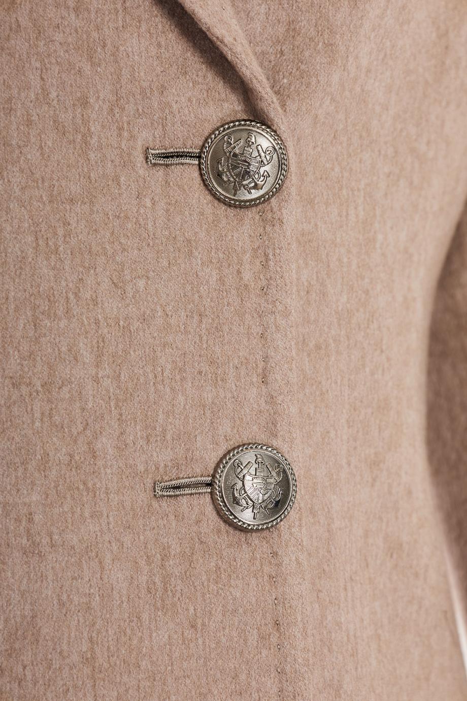 Wool-gabardine blazer