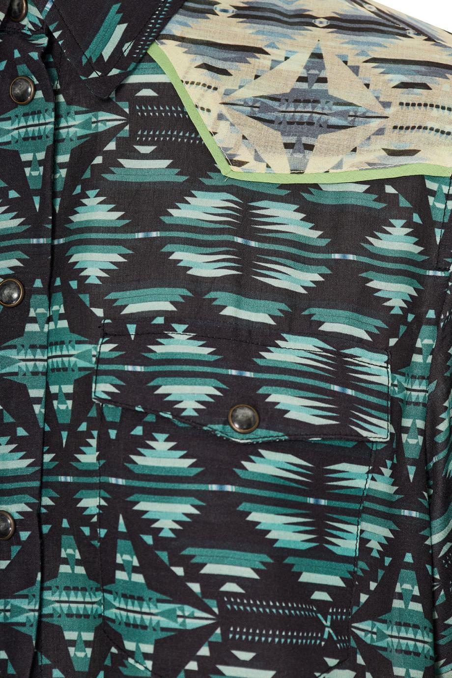Arizona printed satin mini dress