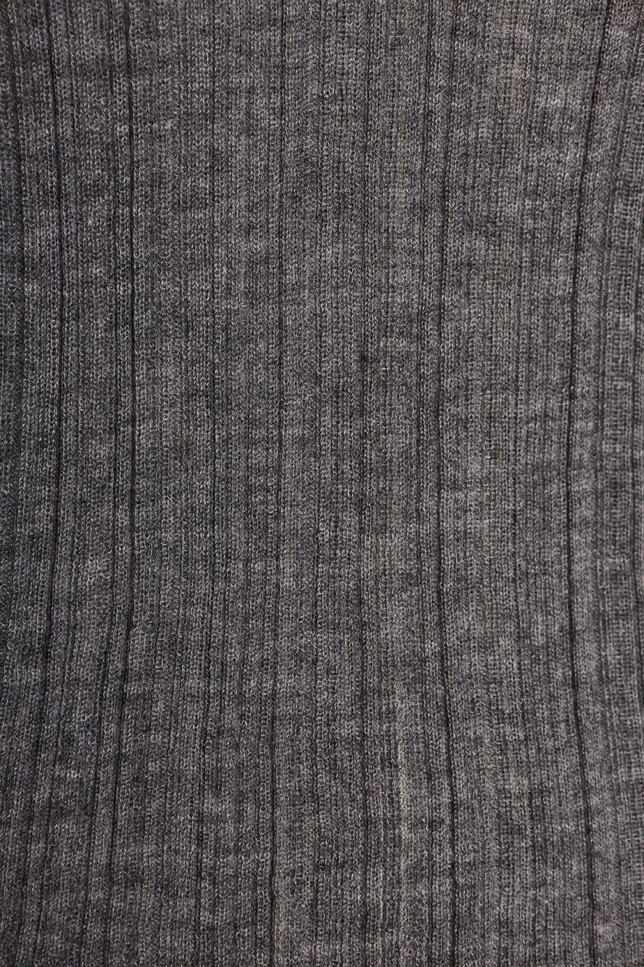 Plissé cashmere sweater