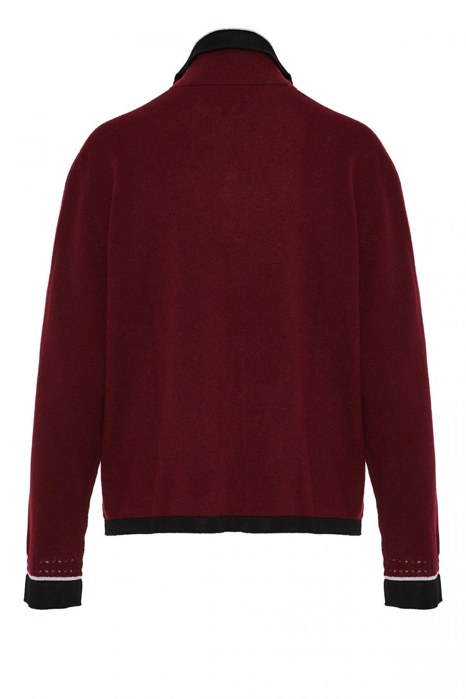Cashmere and cotton sweater