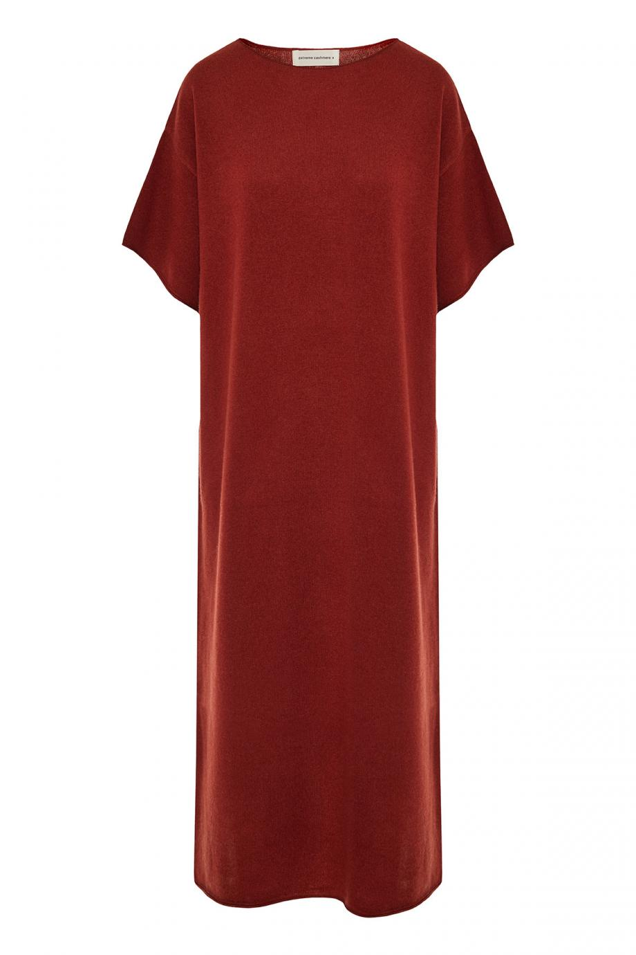 Stretch-cashmere maxi dress
