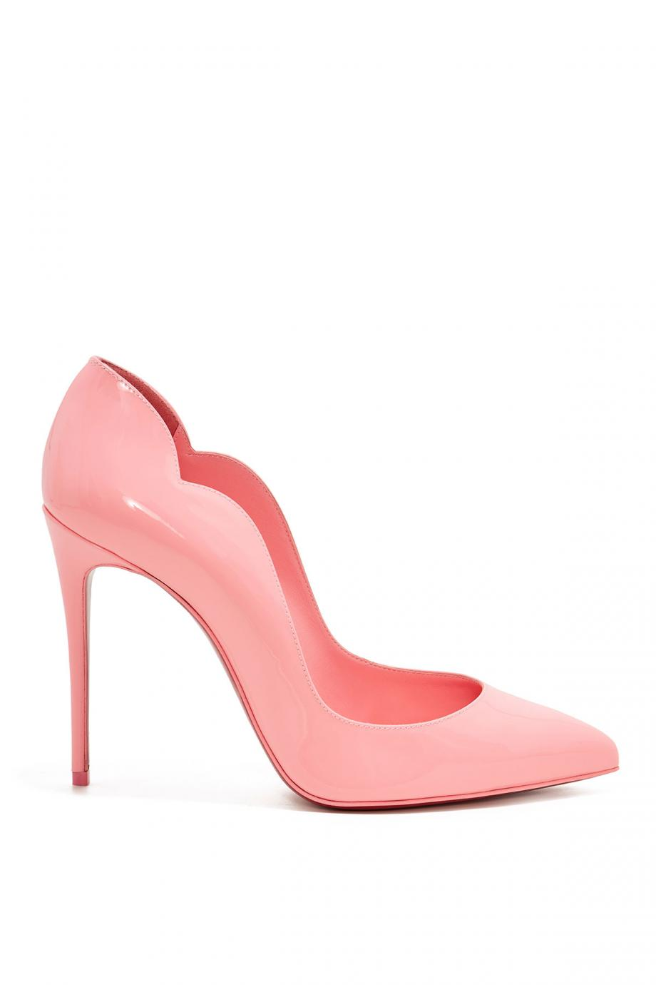 Hot Chick patent-leather pumps