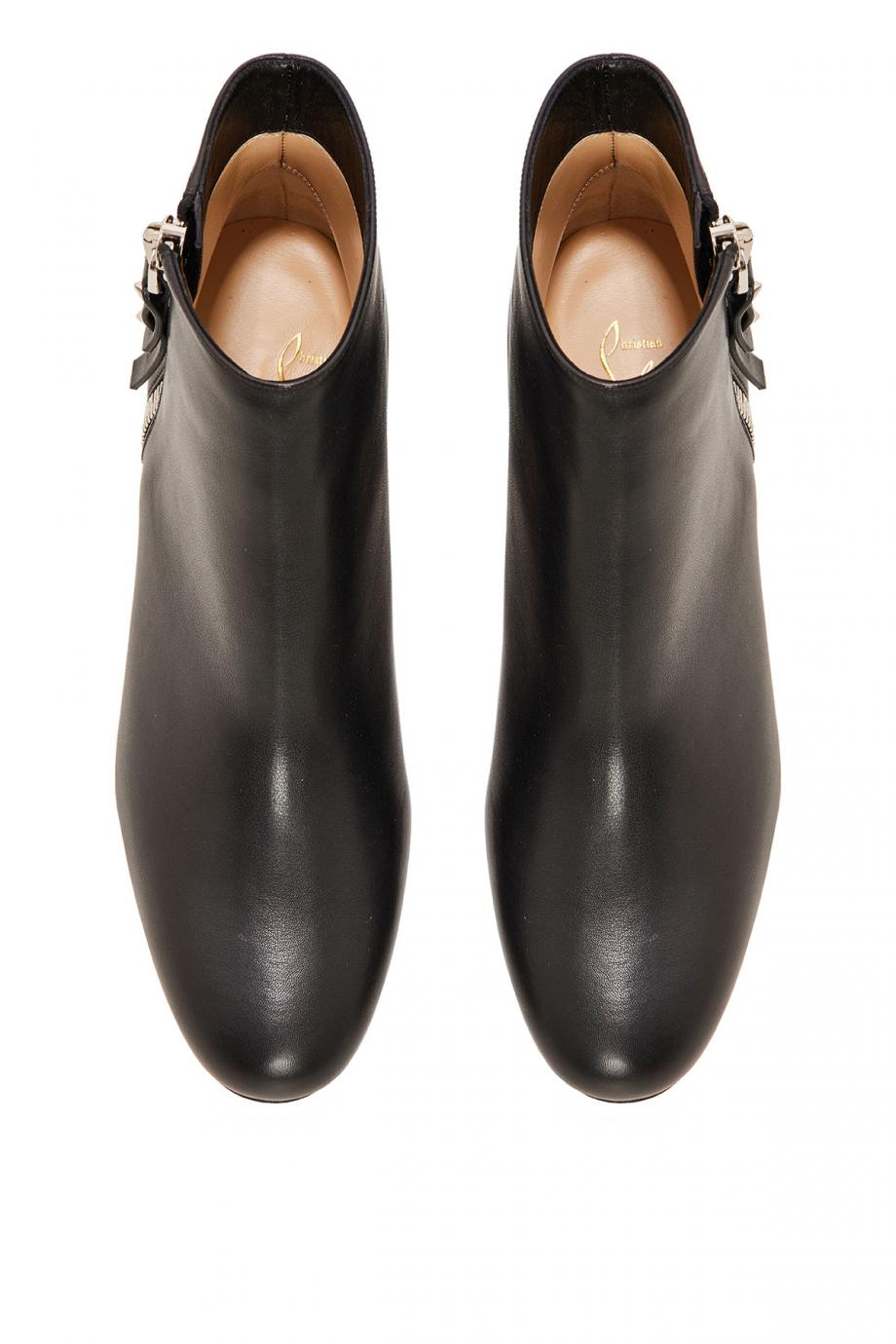 Ziptotal leather boots