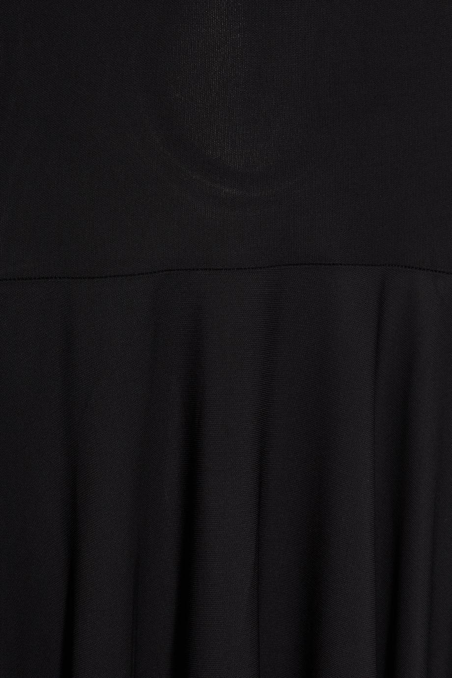 Stretch-jersey maxi dress